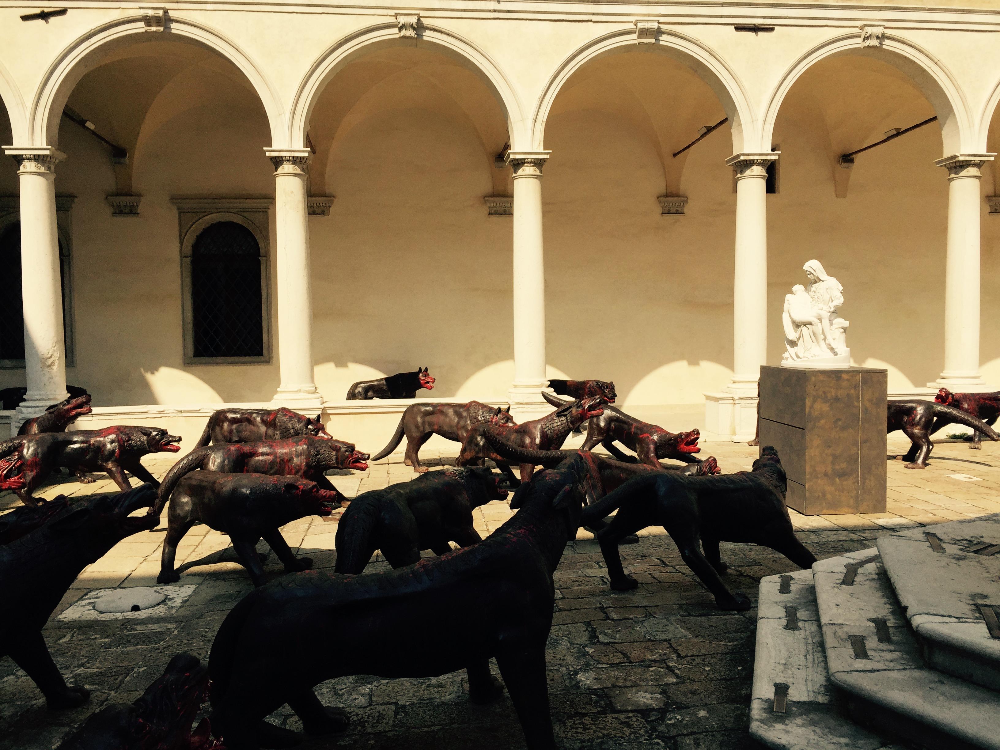 Celebration of Friendship, Wolves, Venice