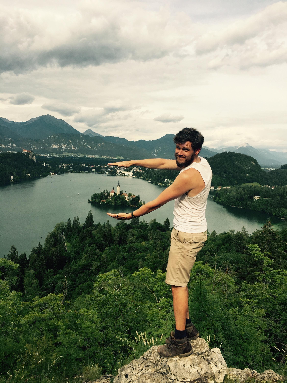Velika Osojnica view point, Bled Lake