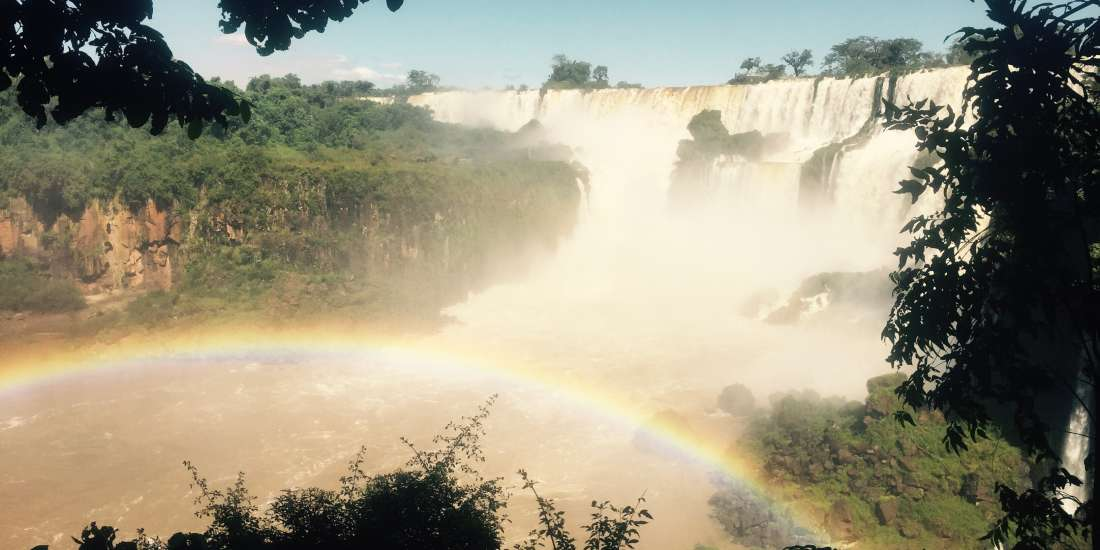 Iguazú waterfalls, Brazil